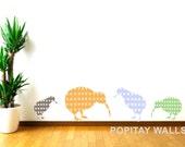 Custom Order -  Two Kiwi Wall Decals