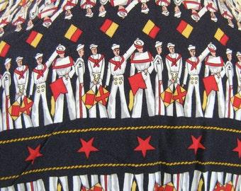 Sailor Nautical Novelty Print Shirt Top