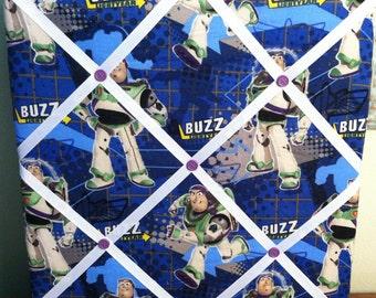 French Memo Photo Board Handmade 12X12 Toy Story Buzz Lightyear
