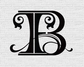 Custom Designed Monogram (IEB)