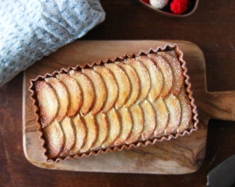 Felt Food Apple Tart