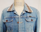 Denim Jacket, Vintage Denim Jacket