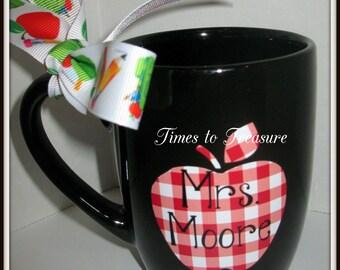 Personalized  Coffee Mug  Teacher Appreciation Gift