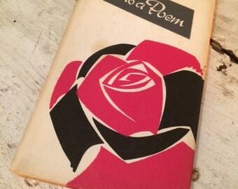 Vintage Poetry Book - Love is a Poem / 1962