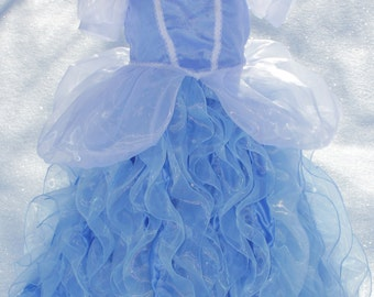 Children's Cinderella Inspired Fairy Princess Ball Gown