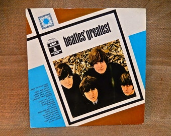 The Beatles - Beatles Greatest - Vintage Vinyl Record Album...Holland Pressing