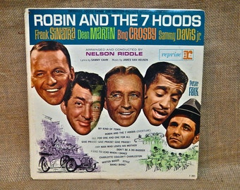 ROBIN and the 7 HOODS...Original Motion Picture Soundtrack - 1964 Vintage Vinyl Record Album