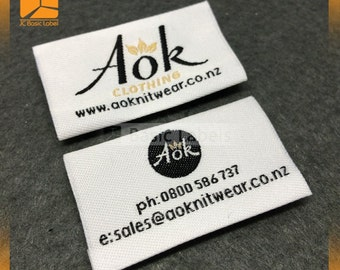 300 woven labels custom, Custom Clothing Labels, custom clothing label,  custom woven labels, clothing sewing label