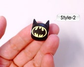 GUO GUO'S- Batman Inspired European style large Hole Bead Charm / Made to order
