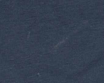 Postman Blue Cotton Lycra Fabric (yard)