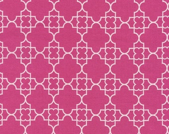 Quatrefoil In Pink Timeless Treasures 1 Yard
