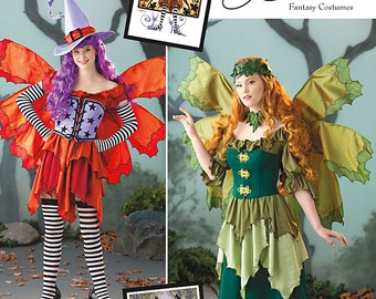 Uncut Simplicity pattern 1550 Misses Fantasy Fairies sewing pattern. Size 14 - 22 Amy Brown Fantasy Costumes