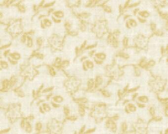 Benartex  Fabric/ Mayflower Muslin / Natural  / Tone on Tone / Quilting Fabric / Cotton