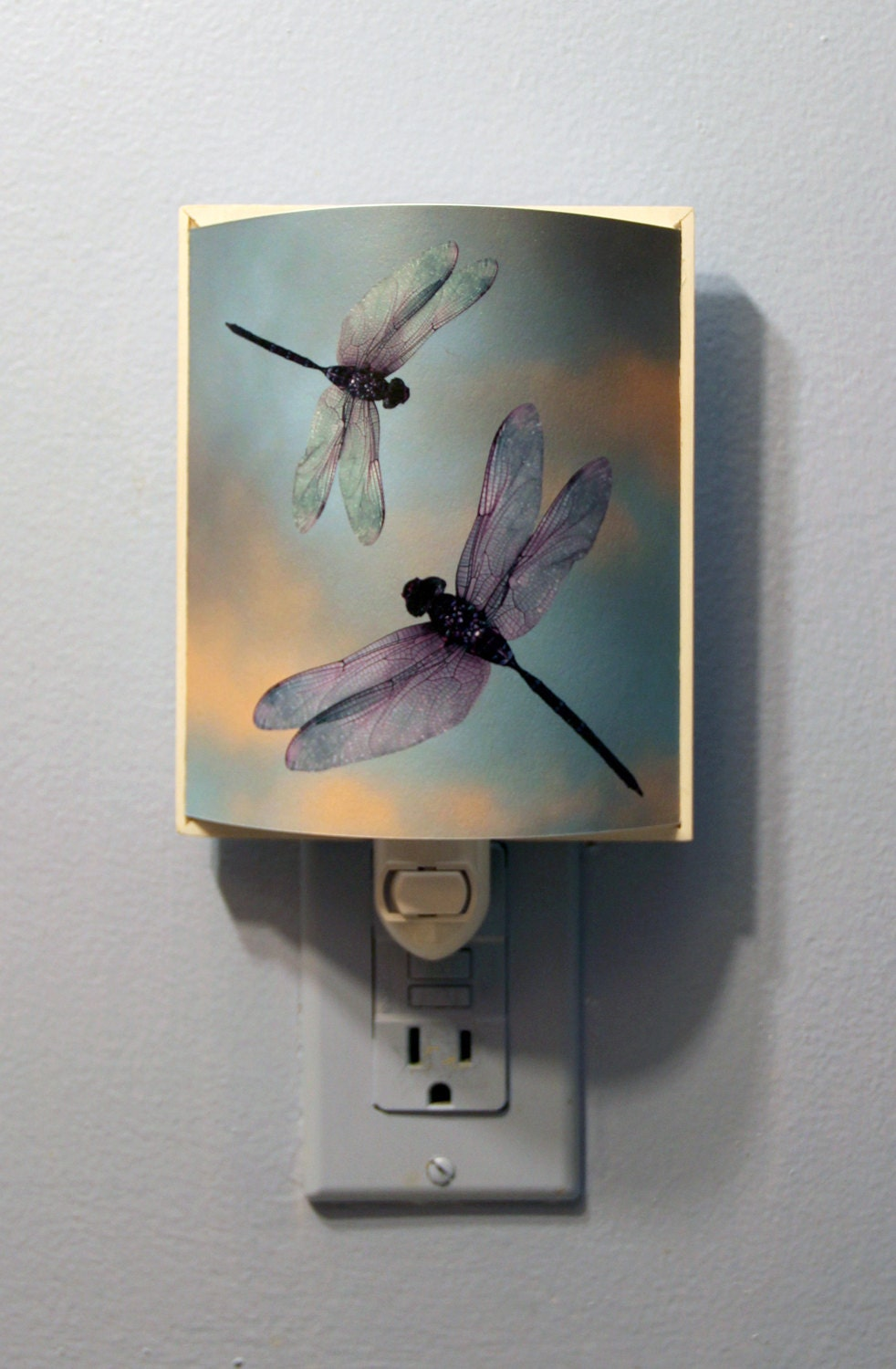 Dragonfly Night Light Plug In Light Dragonflies In The