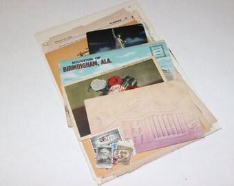 Alabama - United States Vintage Travel Collage Kit