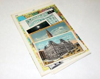 Ohio - United States Vintage Travel Collage Kit