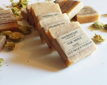 Beer Soap, Wedding Favors, Rustic Wedding Favors, Beer Soap for Wedding, Samples, Homemade soap,