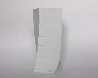 Porcelain White Modernist Vase - Christa Hausler-Goltz for Rosenthal