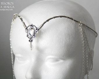 Elven tiara - elvish tiara - bridal