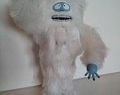Abominable Snowman Nutcracker (Made to order)