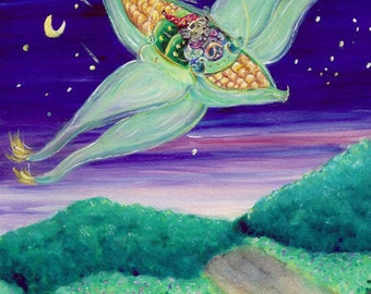 Corn Plane, by Christine Mix copyright 2006