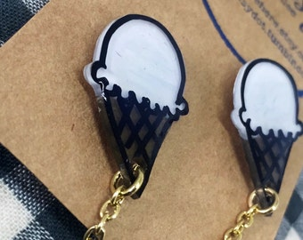 SALE!! Ice Cream Cone Collar Pins