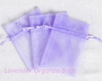 Organza Bags Wedding Favors Organza Bags 100 LavenderSheer Bridal Baby Shower Party Favor Easy
