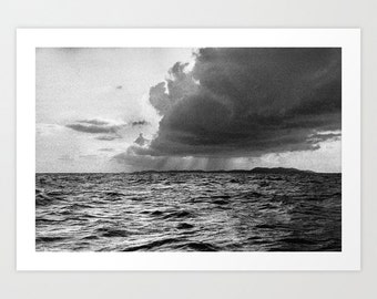 BW Seascape Photography Print