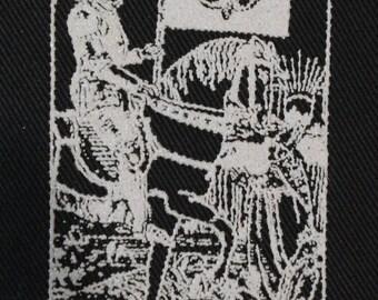 A.T.W.A. / A.T.W.A.R. Death Tarot patch