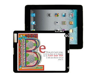 iPad 2/3/4 - iPad Mini - snap on plastic case - Joshua 1:9