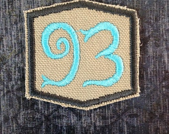 93 Thelema - PATCH -  Aleister Crowely