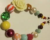 Fall Bubblegum Necklace