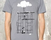 Building a Cloud - Men's Graphic Tee - Available in Sizes Up to 2XL