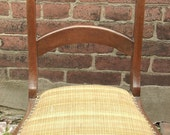 Antique 1800's Hand Carved chair, Victorian chair, Side chair, Bedroom chair, Victorian furniture, Antique chair,