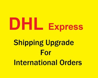 DHL Express Shipping Upgrade To USA, Canada, UK, Australia, New Zealand - Please leave your telephone number