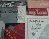 Vintage crochet books 14 pcs
