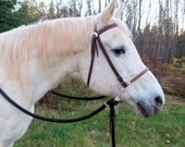 Rope Bosal with Braided Accents