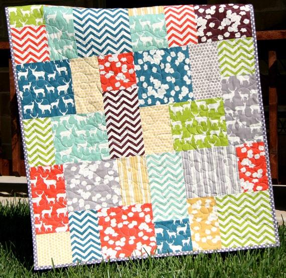 Big Block Quilt Pattern Big and Tall Fat Quarter Friendly : easy large block quilt patterns - Adamdwight.com