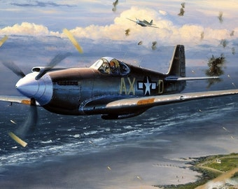 WWII FIGHTER PLANE Poster 24 X 36 inch | | Airplane | aircraft | travel |