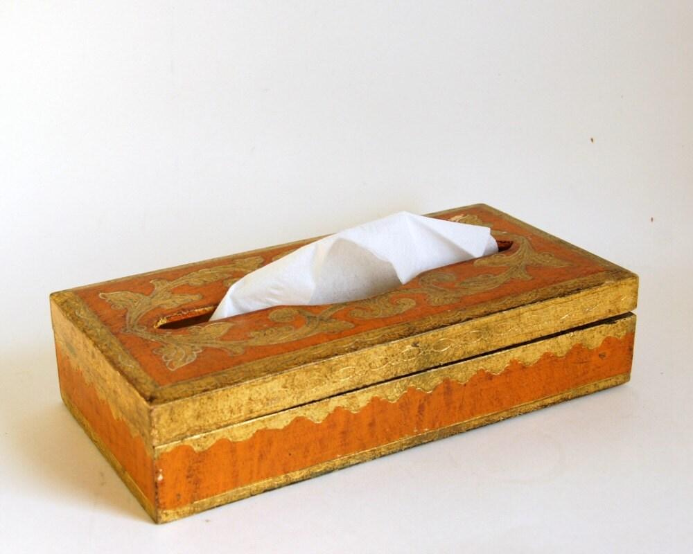 Florentine Tissue Box Kleenex Holder By Sentimentalfavorites