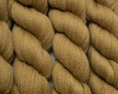 Butterscotch Recycled Lace Weight Extra Fine Grade Merino Yarn, 636 Yards Available in One Skein