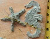 Seahorse Starfish large tiles Mosaic or Jewelry