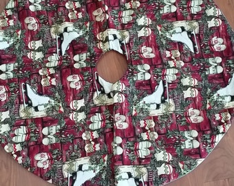 Skates and Mittens Tree Skirt (small)