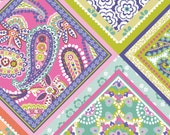 Blend Fabrics - Handkerchief in Multi - Paisleigh by Maude Asbury - By The Yard