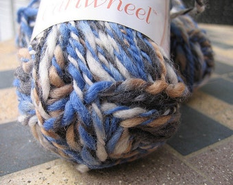 7 skeins of aran weight wool