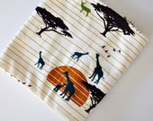 SALE organic the plains swaddle blanket or minky baby blanket