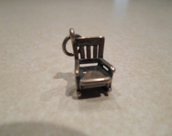 James Avery Retired Rocking Chair Charm