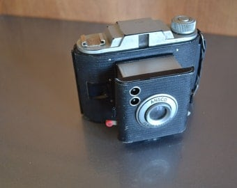 Vintage Ansco FlasClipper Camera- Check out all of our cameras