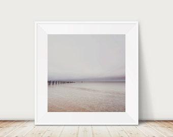 ocean photograph beach photography sunrise photograph beach print ocean ripples print pastel home decor landscape photograph