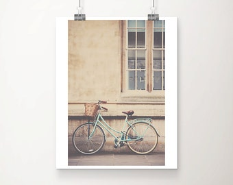 mint bicycle photograph mint bike photograph cambridge photograph travel photography wanderlust art mint bicycle print